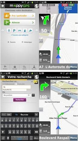 mappygps gps gratuit sur android g n ration mobiles. Black Bedroom Furniture Sets. Home Design Ideas