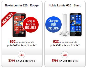 free mobile casse le prix du nokia lumia 820 sous wp8 g n ration mobiles. Black Bedroom Furniture Sets. Home Design Ideas