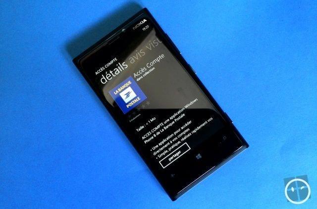 l 39 application de la banque postale arrive sur wp8 g n ration mobiles. Black Bedroom Furniture Sets. Home Design Ideas