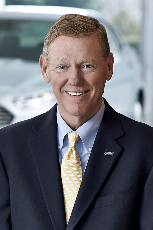 Alan Mulally, President and Chief Executive Officer, Ford Motor Company