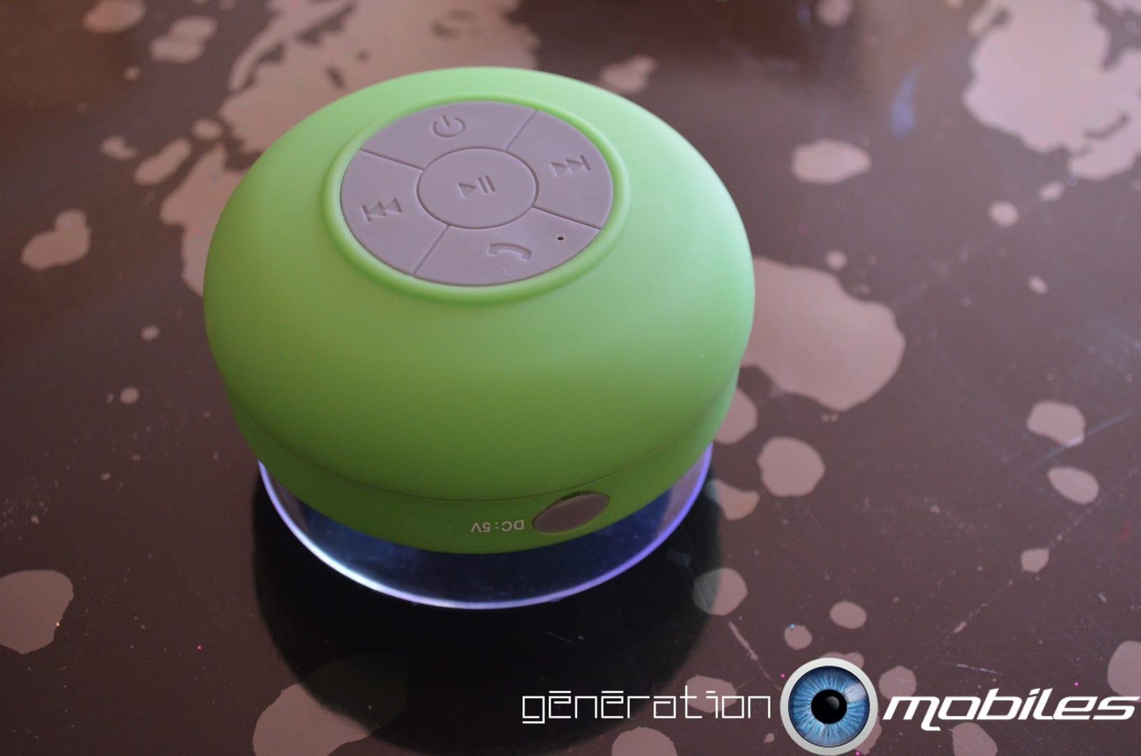 Hp Bluetooth Salle De Bain ~ test du haut parleur bluetooth tanche et portatif de mobilefun