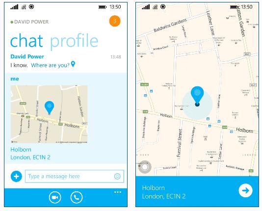 comment localiser une personne avec skype