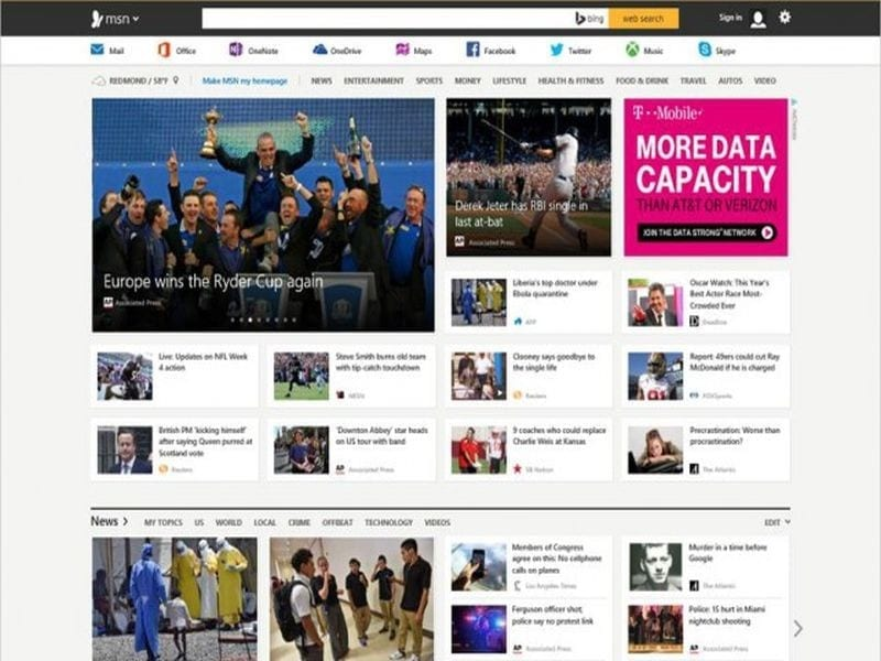 msn-homepage