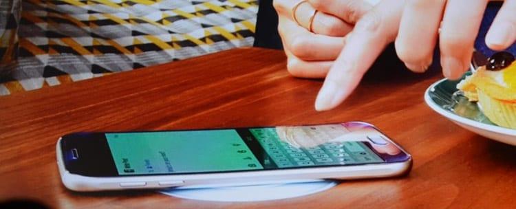 La recharge sans fil pour le Galaxy S6