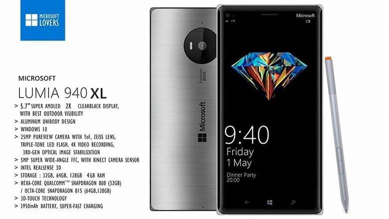 Lumia-940XL-specs