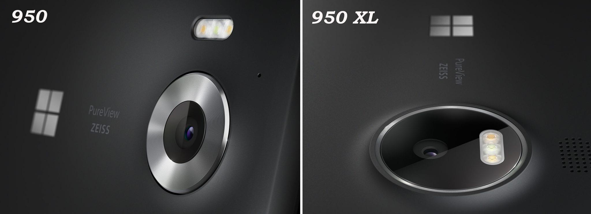 Capteurs 950 et XL