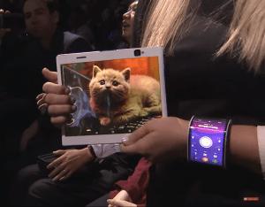 smartphone et tablette flexible lenovo