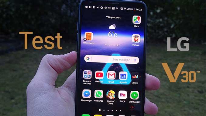 test lg v30 smartphone