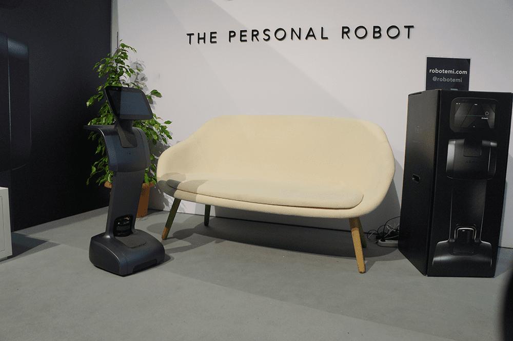 temi robot intelligent startup ifa 2018