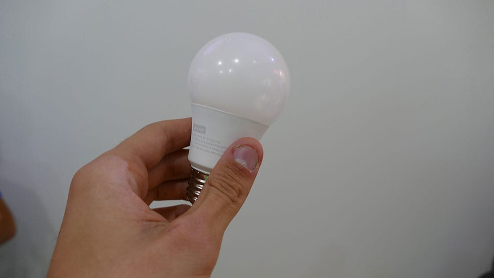 ifa 2018 lenovo smart bulb
