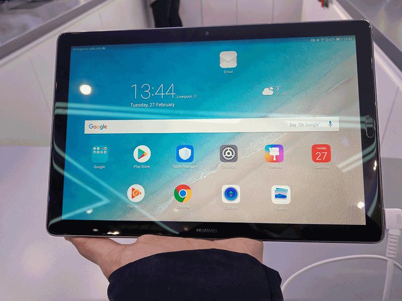 tablette huawei mediapad m5 mwc 2018