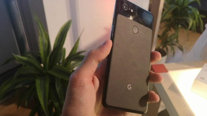 Google Pixel 3 Xl dos