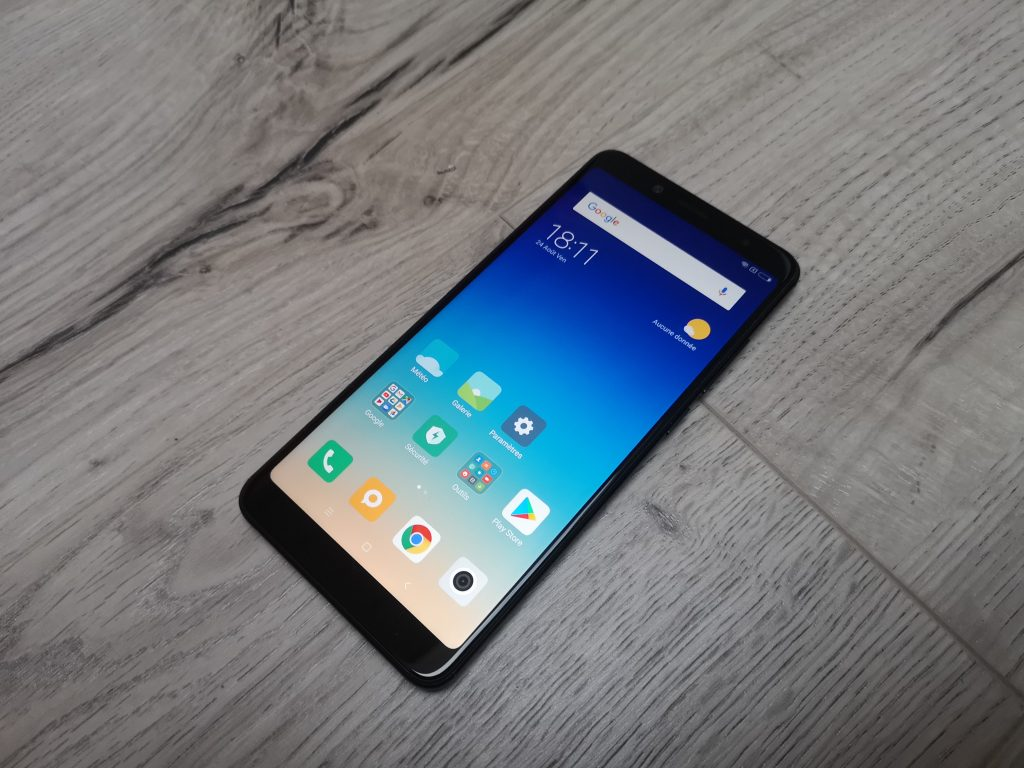 test xiaomi redmi note 5 le design