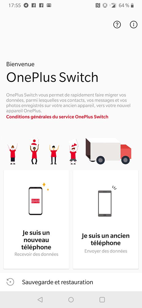 test oneplus 6t oneplus switch