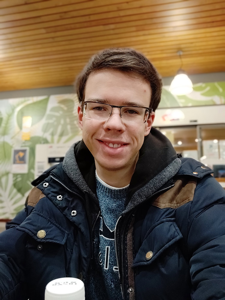 test oneplus 6t photo portrait interieur